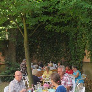 Sommerfest geteilt