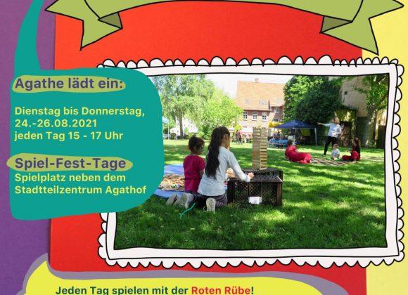 24.-26.8., 15-17 Uhr: Spiel-Fest-Tage