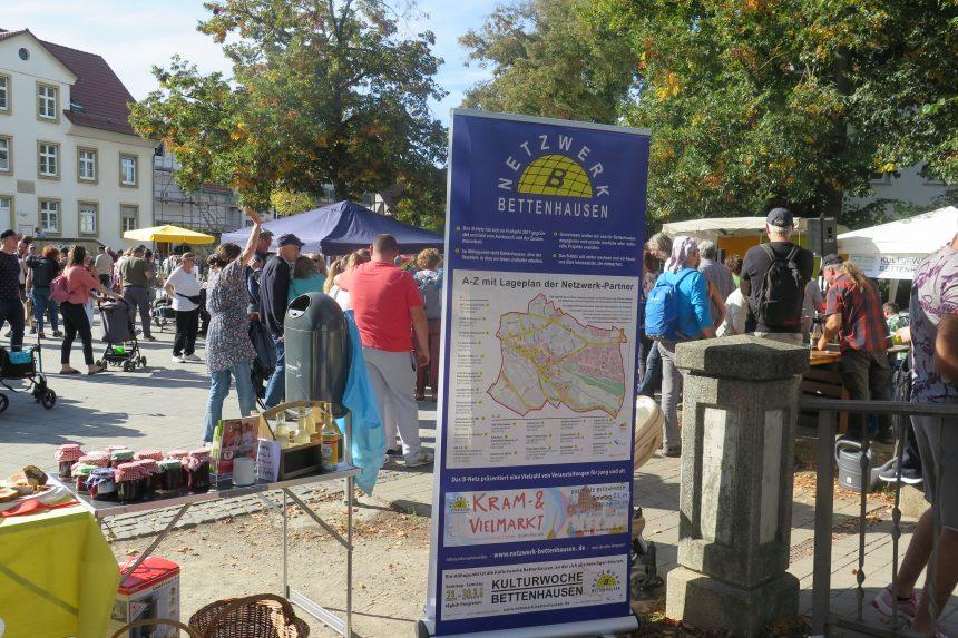 Kram- & Vielmarkt am 03.10. von 14-18 Uhr