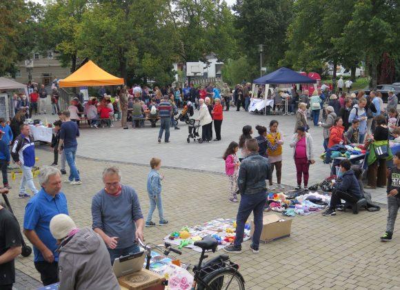 Kram- & Vielmarkt: bunt und lebendig